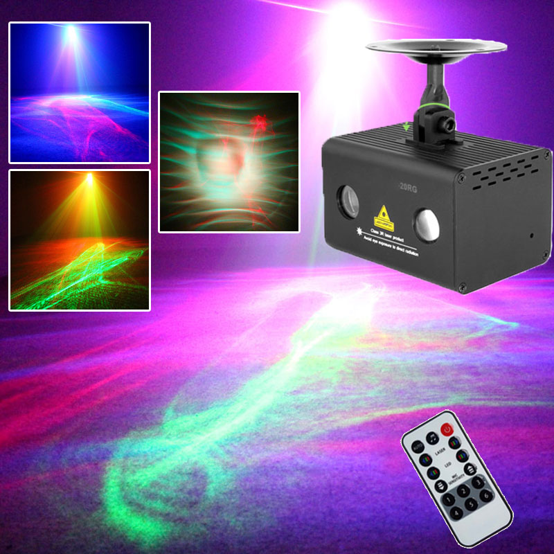 Us 99 76 Music Center Disco Laser Lights Rgb Led Party Lighting Night Club Atmosphere Aurora Water Wave Effect Fit For Fog Machine In Stage