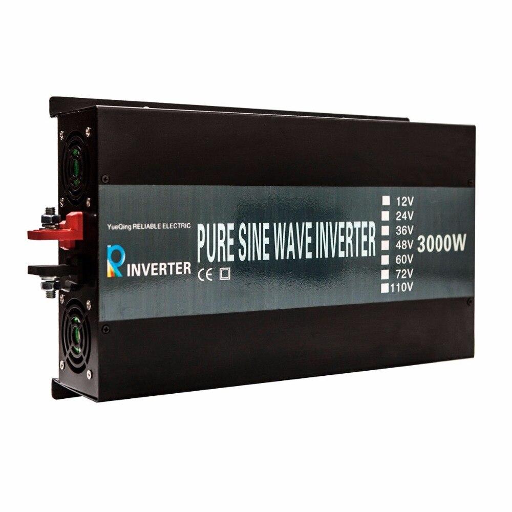 Off Grid 3000W Pure Sine Wave Solar Power Inverter Reliable 3000W Generator