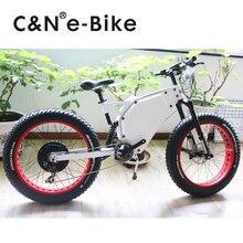 2017 Popular 48v 3000W Snow Fat Tire E-bike Electric Bike Electric Mountain Bike Electric bicycle