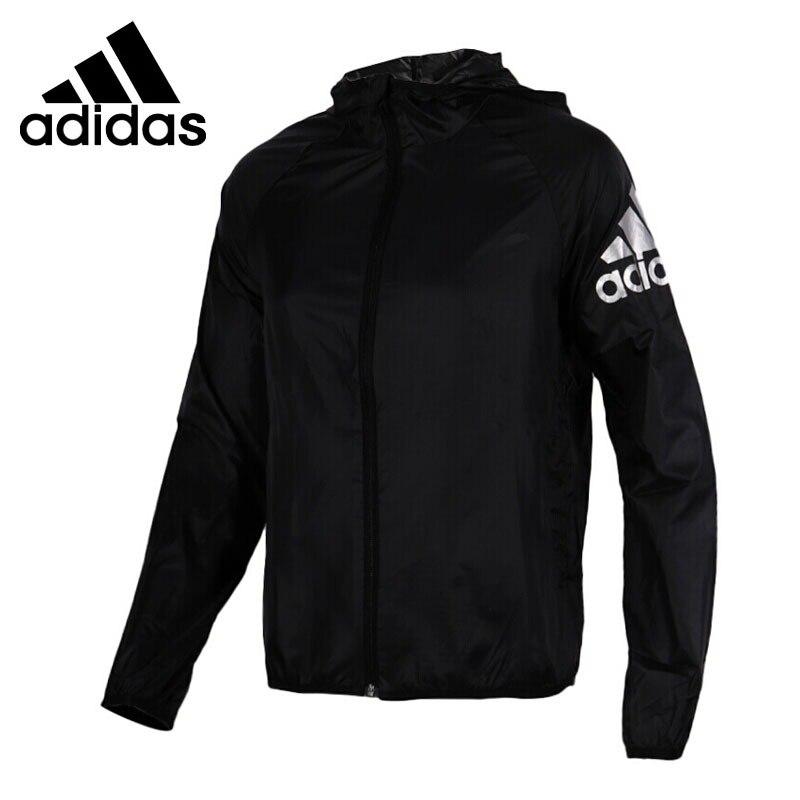 Original New Arrival 2018 Adidas WB LOGO SUMMER Women's jacket Hooded Sportswear original new arrival 2018 adidas wb logo summer women s jacket hooded sportswear