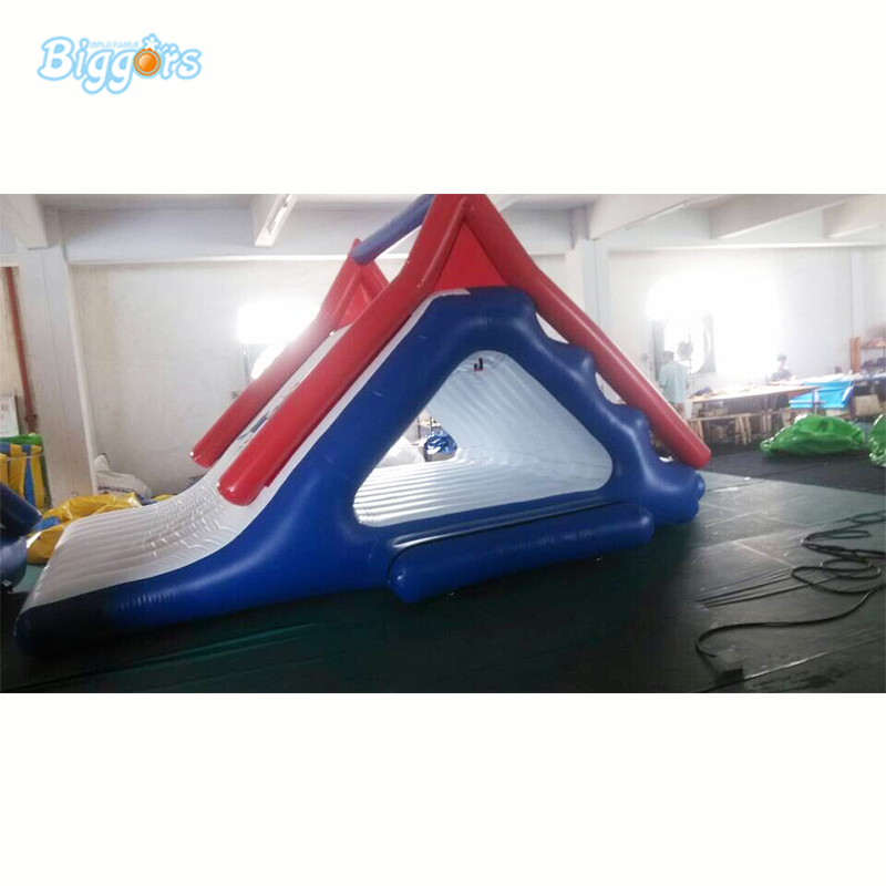 цена на Inflatable Water Park Sea Slide Inflatable Floating Water Slide