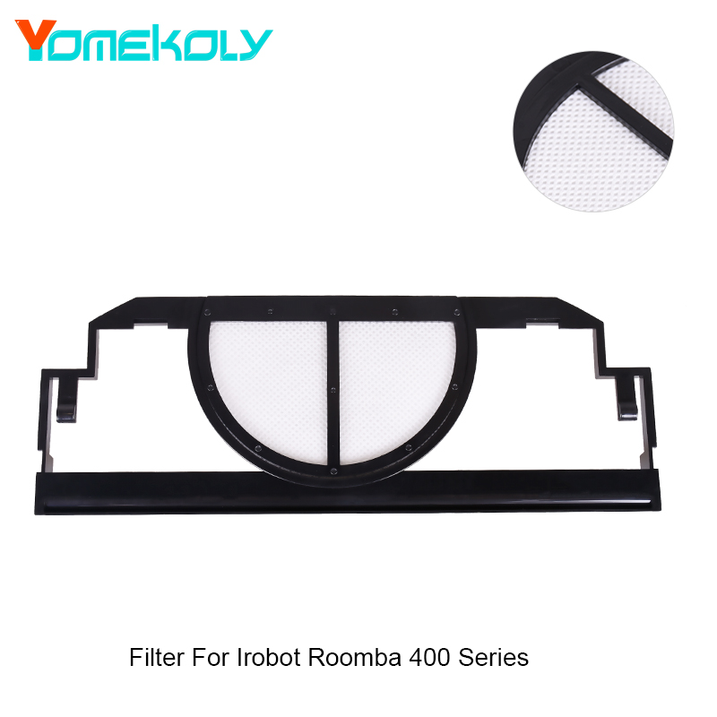 все цены на YOMEKOLY 1PC Filter for Vacuum Cleaner Home Cleaning Accessories Dust Filter For Irobot Roomba 400 Series онлайн