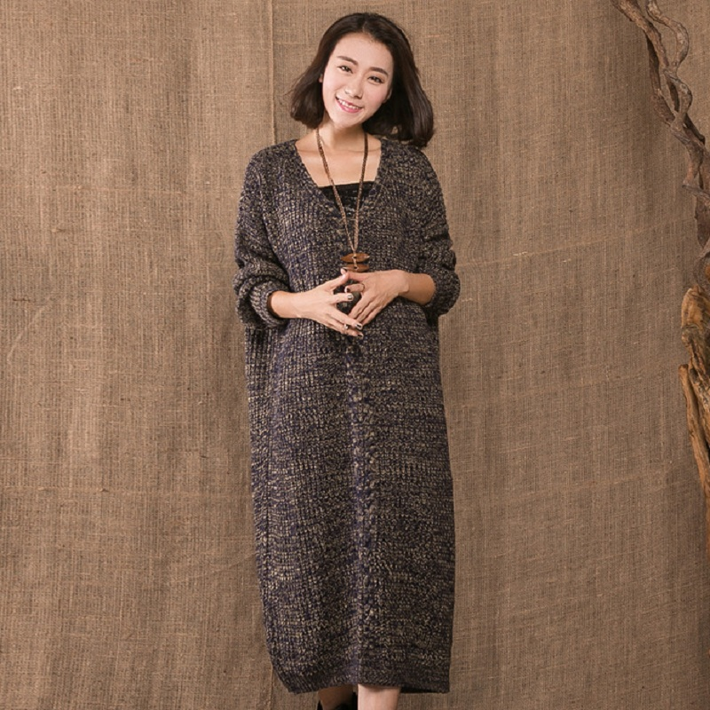 0c0d146587975 new autumn/winter women's sweaters Maternity sweaters coat outerwear  knitted long plus size sweater pregnant clothing 16928