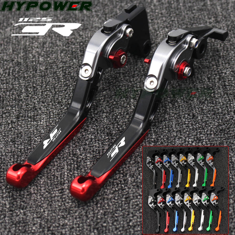 Motorcycle Folding Extendable CNC Moto Adjustable Clutch Brake Levers For <font><b>Buell</b></font> 1125CR <font><b>1125</b></font> CR 2009 image