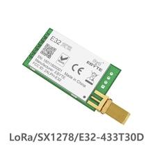 LoRa SX1278 SX1276 TXCO 433 МГц 1 Вт радиочастотный модуль E32-433T30D lora передатчик UART 433t30d дальность действия 8000 м беспроводной Радиочастотный приемопередатчик