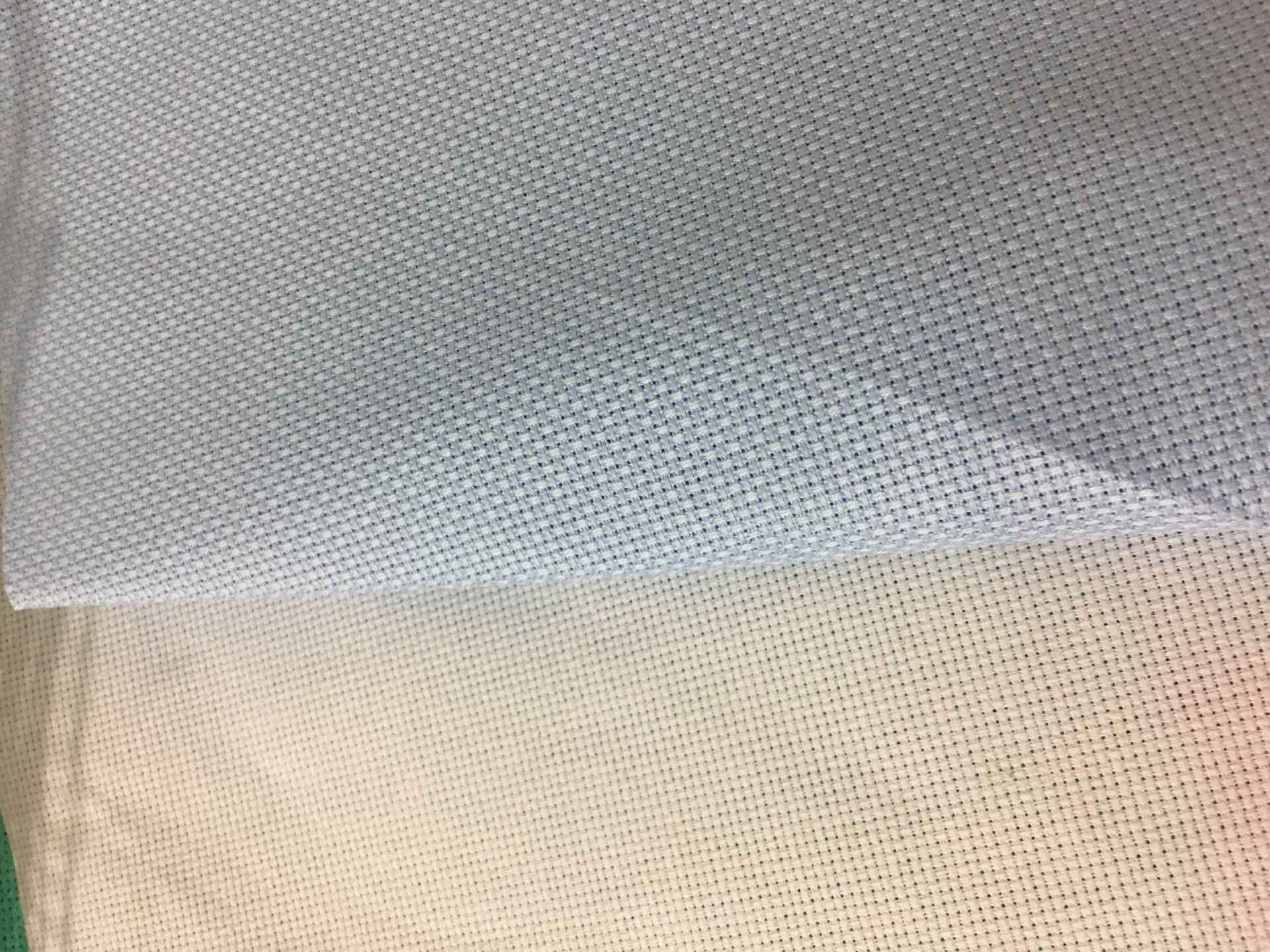 Oneroom tissu à point de croix vert, taille différente, tissu blanc, rose, flaxen, tissu à point de croix vert