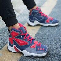 Hoge jong Persoon Outdoor Basketball Heren Athletic Boot Paar Sneaker Kids Comfortabele Jordan Retro zapatillas baloncesto