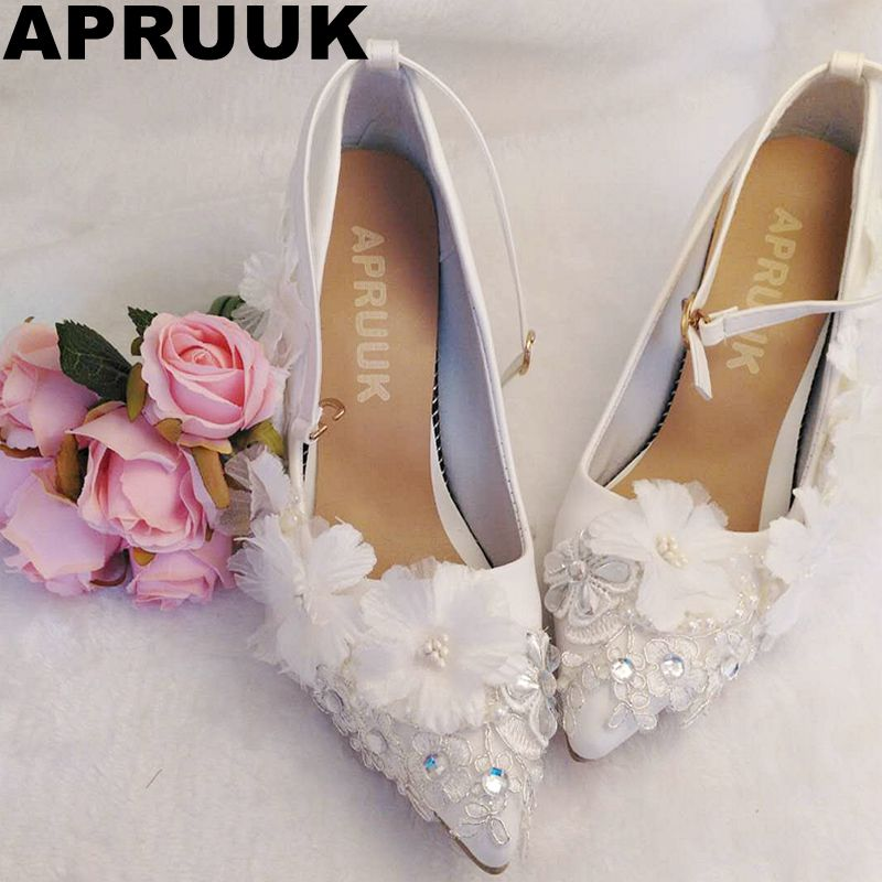 9CM Thin High Heels Wedding Shoes Women Sexy Point Toes