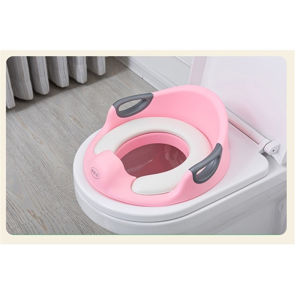 Potty & Seats Toilet Training Potty Training Seat Kids Toilet Seat For Baby Backrest Toilet Trainer For Child Blue,white, Pink