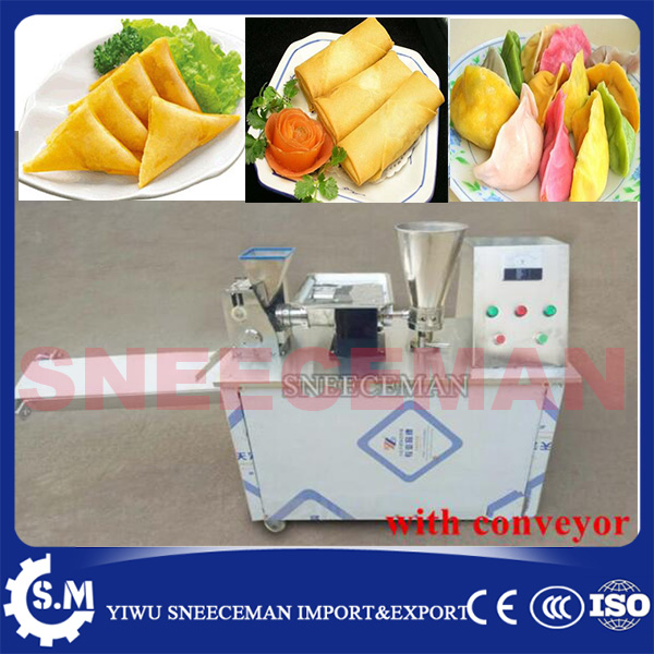 Automatic dumpling making machine machine Empanda Samosa Spring Roll  dumpling maker machine for sale ce certificate automatic gyoza maker steamed dumpling make automatic stainless steel dough making machine chinese dumpling maker