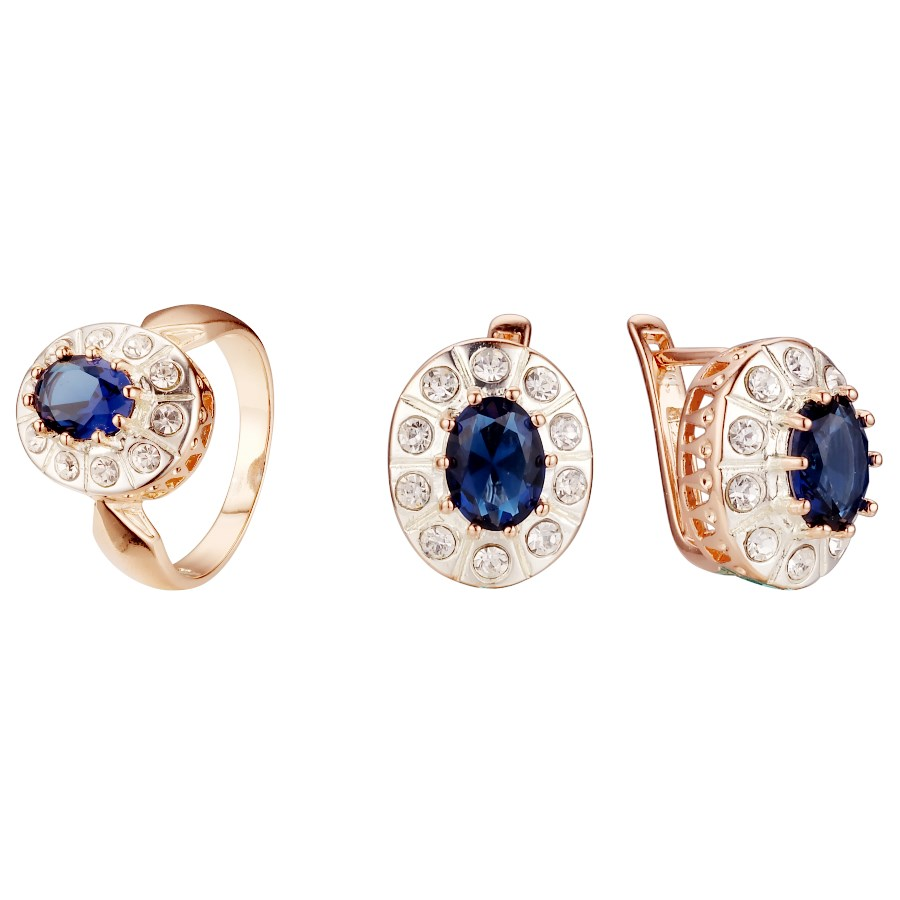 Blue ring size 8