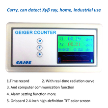 Counter Nuclear Radiation Detector Dosimeters Tester with Display Screen Radiation Geiger Counters Beta Gamma X Ray Dosimeters br 9 portable radiation dosimeter geiger counter nuclear electromagnetic field radiation tester detector x ray beta gamma dete
