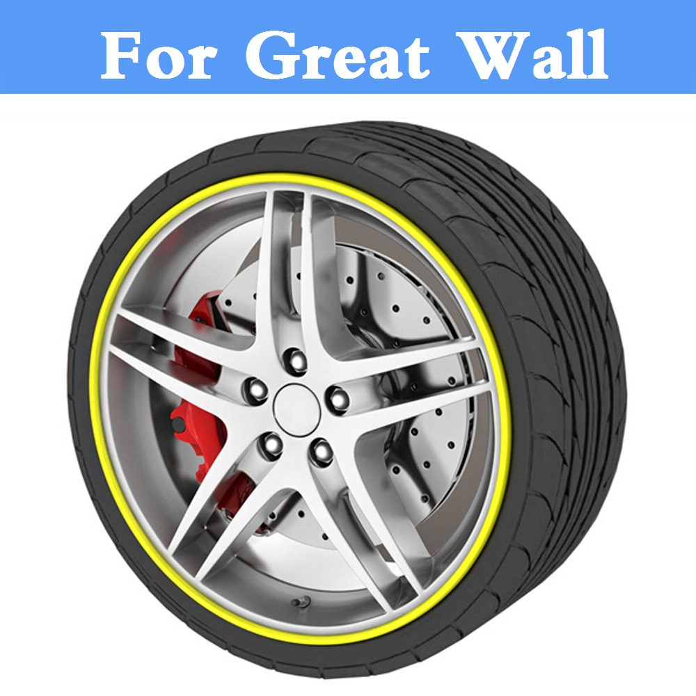 Car Styling Wheel Hub Cover Decorative Circle Trim For Great Wall Coolbear Florid Hover Hover H3 Hover H5 H6 Voleex C10 C30