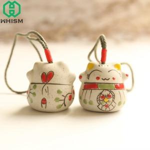 WHISM Mini Ceramic Windchimes