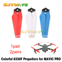 8330F Colorful Foldable Propellers Red Blue White Props for DJI MAVIC PRO