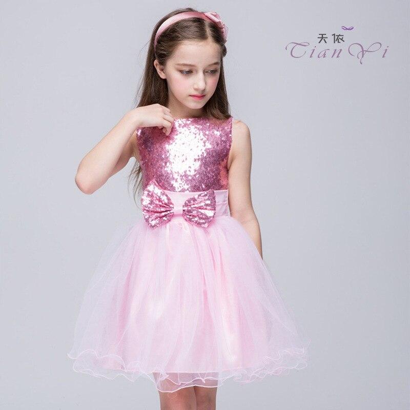 2016 christmas girls dresses for new clothes baby girls for Big princess wedding dresses
