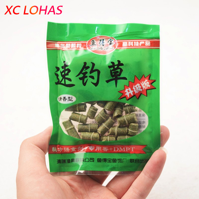3 Bags/Pack Grain Protein Smell Carp Fishing Bait Green Red Different Length Protein Carp Bait Freshwater Fishing Lure Baits