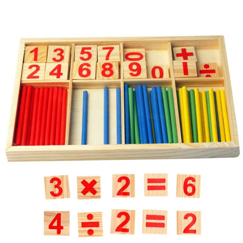 Juguetes para bebés Palos de contar Educación Juguetes de madera - Educación y entrenamiento