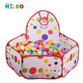 safety tents with basketry kids play tent baby playpens mesh indoor ocean ball pool outdoor play yard for children game house