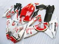 Red/White Lucky for SUZUKI GSX R600 R750 06 07 GSXR 600 750 GSXR600 GSXR750 GSX R600 GSX R750 K6 06 07 2006 2007 Fairing Kit