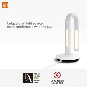 Image 2 - Original Xiao Mi Mi Jia 2 Xiao Mi EyeCare APP ควบคุมสมาร์ทโคมไฟตั้งโต๊ะแบบคู่ Xio Mi mi Home Mi Store สีขาว 62