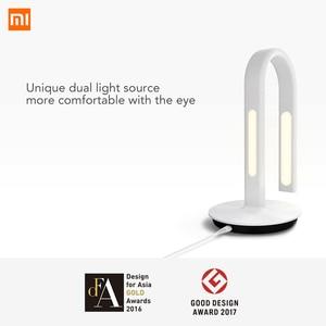 Image 2 - Original Xiaomi Mijia Lamp 2 Xiao Mi Eyecare App Control Smart Desk Lamp Dual Light Source Xiomi Mi Home Mi Store   White 62