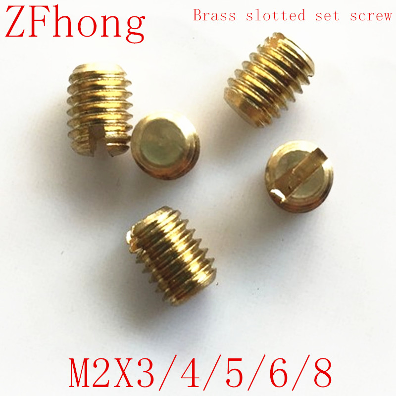 Thread Size 3//8-16 Thread Size 3//8-16 FastenerParts Alloy Steel Brass-Tip Set Screw