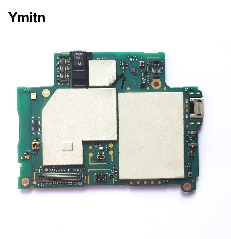Ymitn Logement Mobile Électronique panneau carte mère Carte Mère Circuits flex Câble Pour Sony Xperia Z2 D6503 Z2A D6553