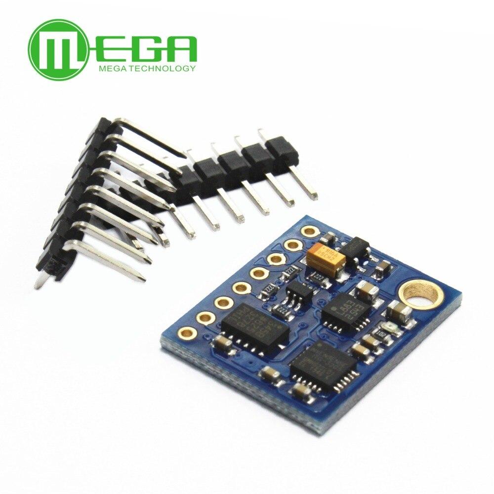 GY-85 módulos de sensor bmp085 módulo de sensor de 9 eixos (itg3205 + adxl345 + hmc5883l), 6dof 9dof sensor imu
