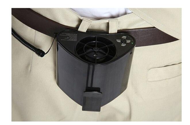 Ventilateur extérieur Portable taille température froide. Mini climatiseur 3 fichier vent vitesse Cool vêtements machine outil de soins personnels