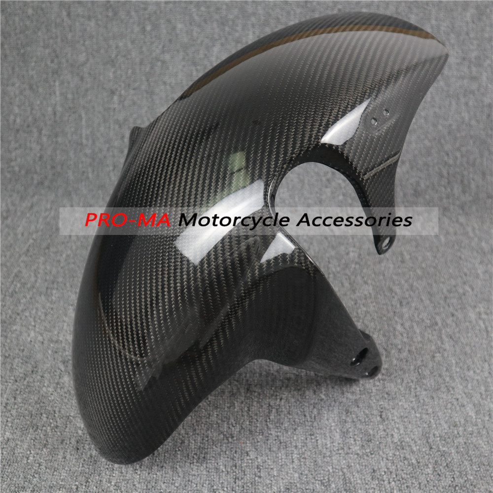 Motorcycle Front Fender In Carbon Fiber For Suzuki GSX-S750  GSXS750 2016-2019,GSX-S1000 GSXS1000 2015+ Twill