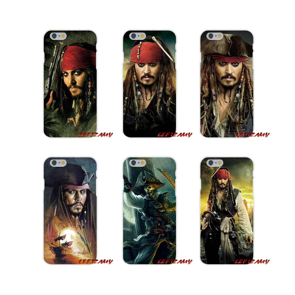 Accessories Phone Shell Covers For iPhone X XR XS MAX 4 4S 5 5S 5C SE 6 6S 7 8 Plus Pirates of the Caribbean