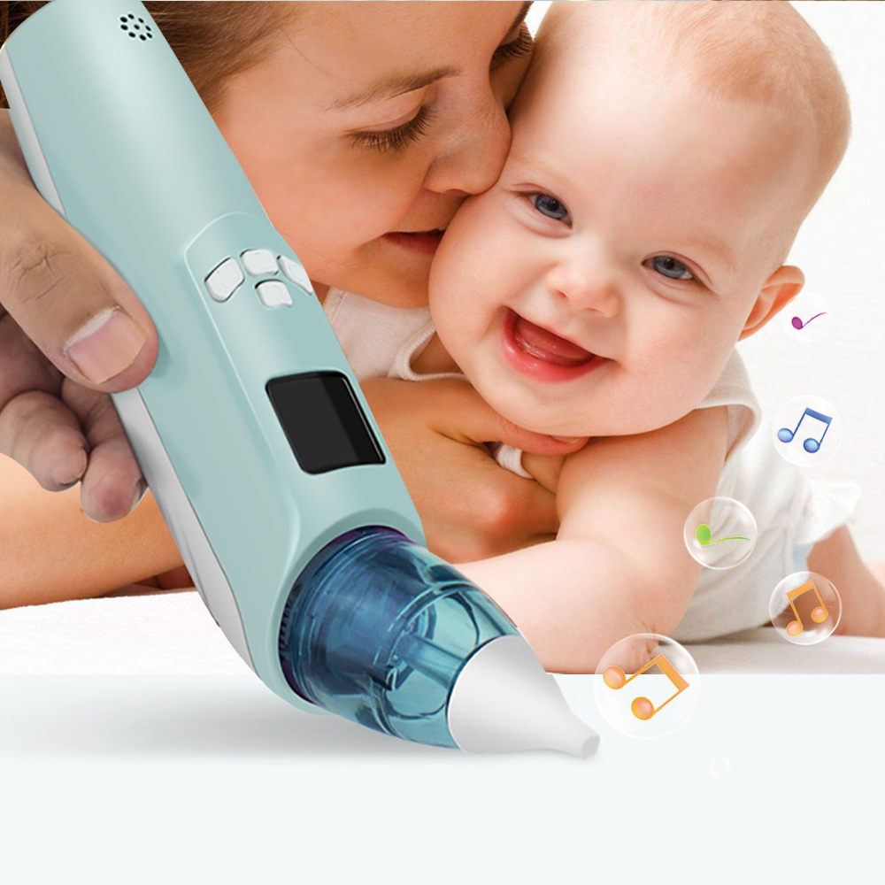 2018 NEW Baby Nasal Aspirator Electric LCD Safe Hygienic Nose Snot Cleaner Suction For Newborn Infant Toddler For Baby Christmas baby nose sucker toddler satety nasal digital nose cleaning machine kids child seago newborn electronic eaner suction nose cl