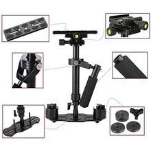 S40 40ซม.อลูมิเนียมHandheld Video Stabilizer Steadycam Steadicam StabilizerสำหรับCanon Nikon Sony DSLRกล้อง