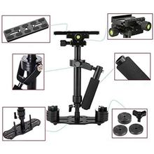 S40 40cm Aluminum Alloy Handheld Video Stabilizer For Steadycam Steadicam Stabilizer For Canon Nikon Sony DSLR Camera