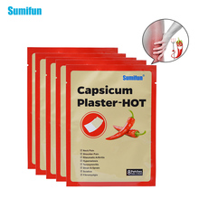 8 Pcs Health Care Patch Chinese Medical Pain Hot Capsicum Plaster to Relieve Joi