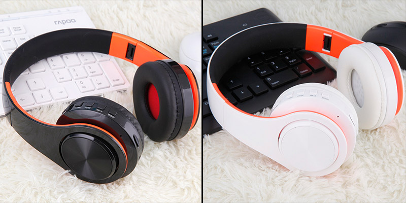 Casque sans fil Bluetooth B7 casque pliable 12