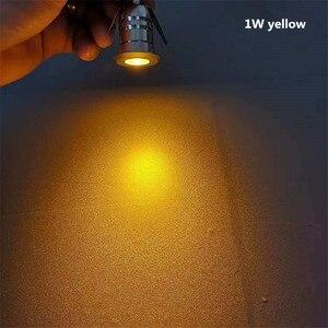 Image 3 - Mini LED, pod ziemią, lekka 1W IP67 ogród światła na zewnątrz wodoodporna okrągła dioda LED krok światła DC12V LED światła pokładowe reflektor LED RGB