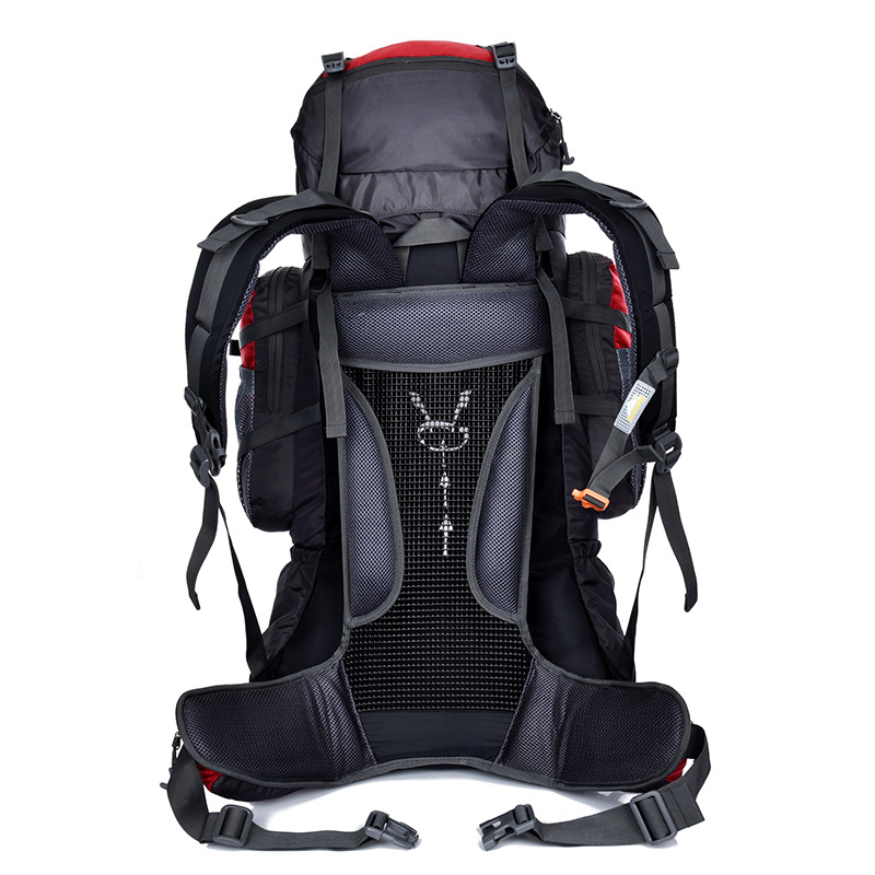 22cff9ebc335 US $78.5  Fengtu 80L+5L Hiking backpack for men camping traveling sports  bag large external frame backpacks-in Climbing Bags from Sports & ...