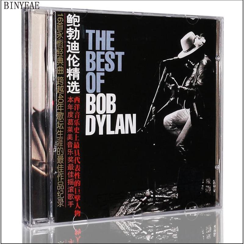 2018 Marsha Smok Alien Avril Lavigne Free Shipping: Bob Dylan Album Works Selected Cd+ Lyrics Book Seal Of Father Of Folk Songs