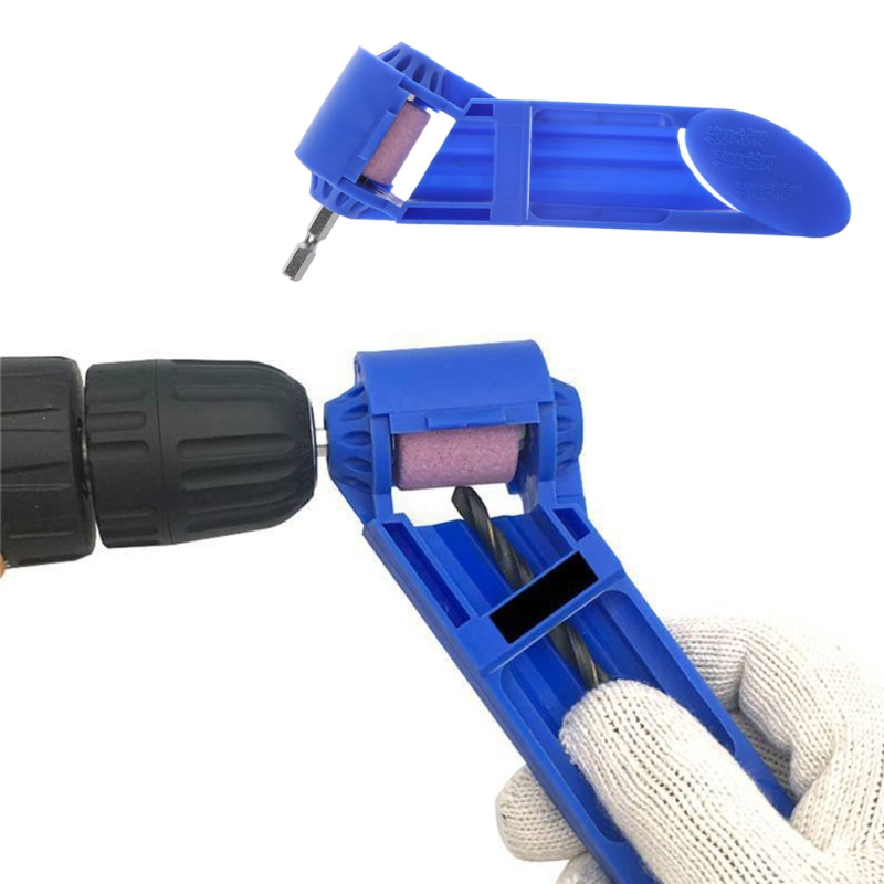 цена на Corundum Grinding Wheel Drill Bit Sharpener Titanium Portable Drill Powered Tool