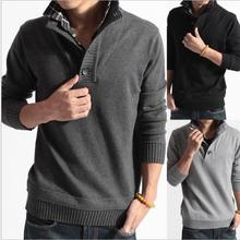 Males's Sweaters Thick Heat Autumn Winter Pullover Cashmere Wool Sweaters Man Informal Knitwear Fleece Velvet Clothes Large Dimension