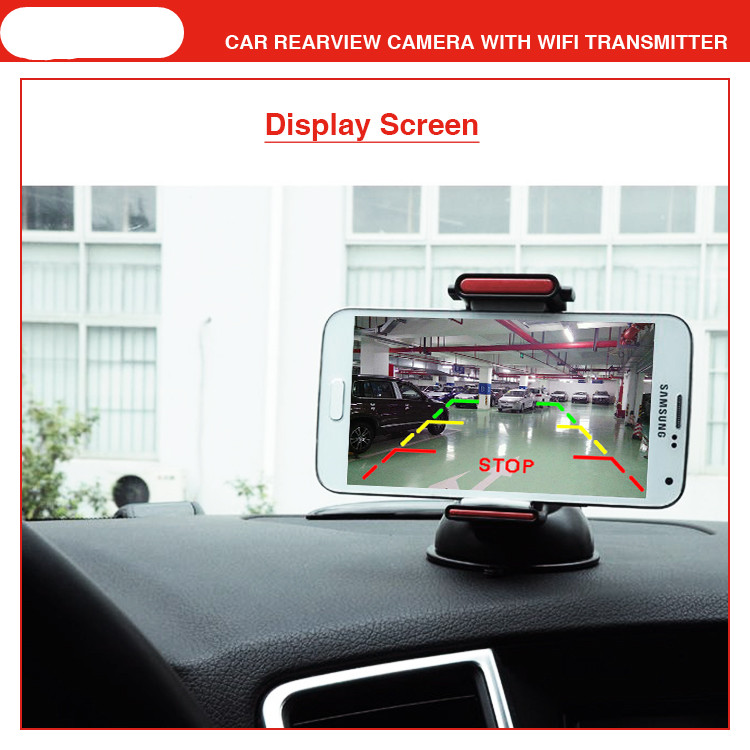 car wifi camera HD Transmitter 170 wide angle w Guiding Line reverse camera led for safe