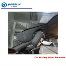 YESSUN Car DVR Driving Video Recorder For Audi A6L 2015 Front Camera AUTO Dash CAM Head Up Plug OEM 1080P WIFI Sony IMX323 yessun car dvr driving video recorder for bmw x5 e53 e70 f15 front camera auto dash cam head up plug