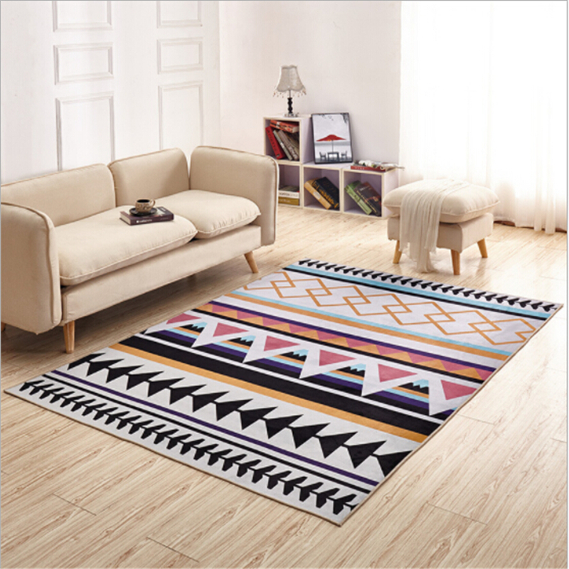 Nordic Hot Sale Delicate Polyester Carpets For Living Room Bedroom Carpet Meeting Room Area Rug Decorate Home Floor Door Mat Rug