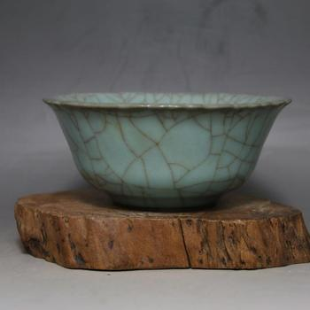 antique SongDynasty porcelain bowl,Guan Kiln,opening piece bowl,hand painted crafts /collection & adornment,Free shipping