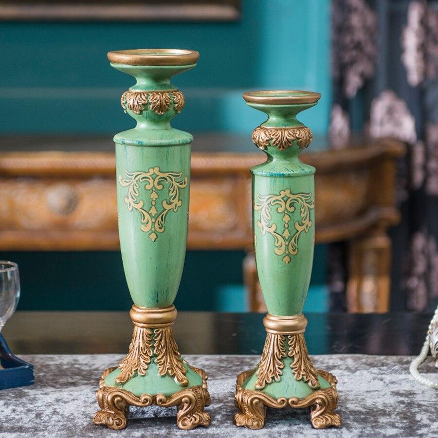 Nordic Home Decor Candle Pillar Accents Arredo Casa Candlesticks Home Decorative Candles Yankee Knutselen Art Mumluk Dekor 50