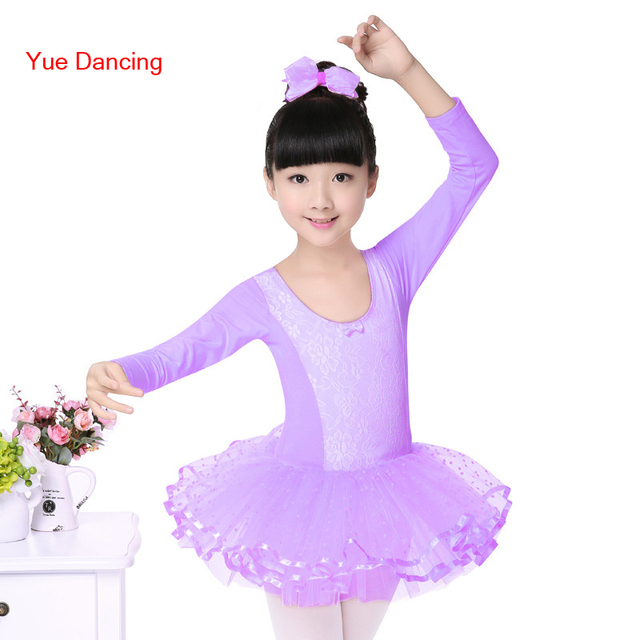 aa436713e457 Long Sleeved Professional Tutu Ballet Costumes Ballet Leotards For ...