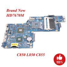 NOKOTION новая материнская плата ноутбука H000038410 H000050770 для Toshiba Satellite L850 C850 C855 HM76 DDR3 7670 M GPU основная плата