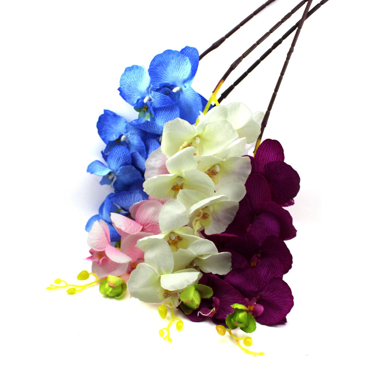 Aliexpress Buy Artificial Butterfly Orchid Silk Flower Home